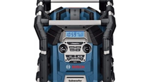 Bosch bouwradio